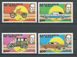MALI Scott 549-549 Yvert 542-545 (4) ** Cote 11,00$ 1987 - Mali (1959-...)