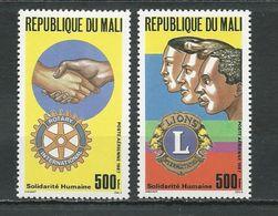 MALI Scott C538-C539 Yvert PA529-PA530 (2) ** Cote 11,00$ 1987 - Mali (1959-...)