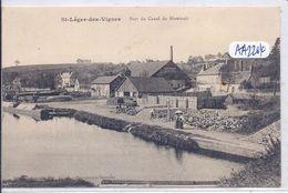 SAINT-LEGER-DES-VIGNES- PORT DU CANAL DU NIVERNAIS - Frankreich