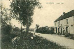 Cpa CHAMBRECY 51 Route De Reims - Auberge Adam BRIFFOTEAUX - Autres Communes
