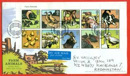 Grand Britain 2005.FDC.Really Passed The Mail.Farm Animals. - 1952-.... (Elizabeth II)