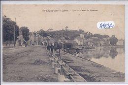 SAINT-LEGER-DES-VIGNES- QUAI DU CANAL DU NIVERNAIS - Autres Communes
