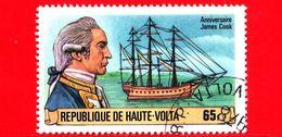 ALTO VOLTA - Usato - 1978 - 250 Anni Della Nascita Del Capitano James Cook  E Brigantino Endeavour - 65 - Alto Volta (1958-1984)
