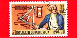 ALTO VOLTA - Usato - 1978 - 250 Anni Della Nascita Del Capitano James Cook E Strumenti Navigazione - 250 - Alto Volta (1958-1984)