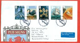 Grand Britain 2003.FDC.Really Passed The Mail.Old Signs Of Pubs. - 1952-.... (Elizabeth II)