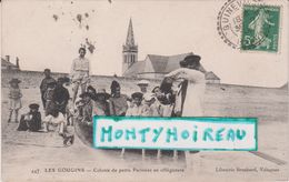 Manche :  LES  GOUGINS :   Colonie  De  Petits Parisiens En Villagiature  ( Quineville-cherbourg) - Autres Communes