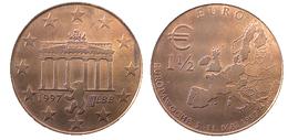02912 GETTONE TOKEN JETON FICHA COMMEMORATIVE EUROPA PRE EURO BRANDEMBUERGER 1 1/2 EURO 1997 - Allemagne