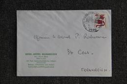 Lettre D'ALLEMAGNE (BERG HOTEL MUMMELSEE) Vers FRANCE - BRD