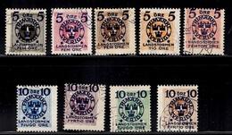 Suède YT N° 87/95 Oblitérés. B/TB. A Saisir! - Suède