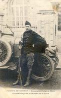 Militaria - 14-18 - Visions De Guerre - Gouvernement Belge Au Havre - Soldat Des Guides Au Ministere De La Guerre - War 1914-18