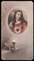 Sacro Cuore - Fortis Est Et Ipse Amor - Anni '30 / Con Breve Dedica Manoscritta - Devotion Images