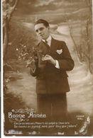 L74A051 - Bonne Année  - Jeune Homme Avec Une Branche De Gui - Furia  N°919 - New Year