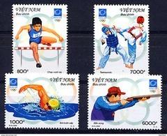 VIETNAM VIET-NAM 2004, J.O. ATHENES, 4 Valeurs, Neufs / Mint. R292 - Viêt-Nam
