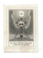 IMAGE PIEUSE...Le Coeur Attaché à La Croix A Horreur Du Péché - Devotion Images