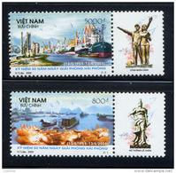 VIET-NAM VIETNAM 2005, HAI PHONG, Barque, Port Et Navires, 2 Valeurs, Neufs / Mint. R299 - Viêt-Nam