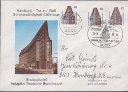 3236  Carta Hamburg 1988 - [7] República Federal