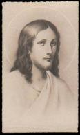 Gesù Cristo - Natale 1942  / Al Retro: Dedica Manoscritta - (misura: Cm. 2,50 X 4,50) - Devotion Images