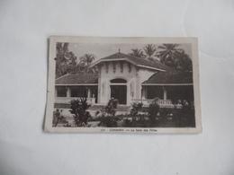 Cpa  Conakry  La Salle Des Fêtes - Guinée Française