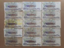 Cambodia 100 Riels 2001 (Lot Of 15 Banknotes) - Cambodia