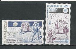 MALI Scott C548-C549 Yvert PA539-PA540 (2) ** Cote 8,00$ 1989 - Mali (1959-...)