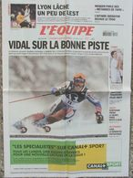 L'Equipe Du 23 Janv. 2006 - Vidal - Lyon - Wenger - Adebayor - Santoro - Loeb - Newspapers