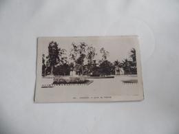 Cpa  Conakry Jardin De L'Hôpital - Guinée Française