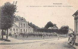 Environs De Louviers - SAINT PIERRE DU VAUVRAY - Place De La Mairie - Autres Communes
