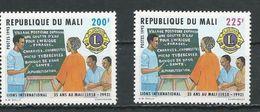 MALI Scott 597-598 Yvert ? (2) ** Cote 110,00$ 1993 - Mali (1959-...)