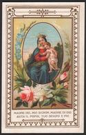 """MADONNA: Madre Di Dio / La Vergine Maria Madre Celeste Con Gesù Bambino (fine Ottocento) - """"Riproduzione"""" - Devotion Images"""
