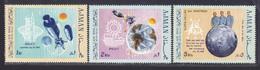 AJMAN AERIENS ** MNH Neufs Sans Charnière, 3 Valeurs, TB (D4716) Cosmos, Apollo 11, Armstrong, Aldrin, Collins - Ajman