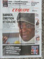 L'Equipe Du 25 Mars 2006 - Barber - Joubert - Toulouse - Loeb - Nadal - Newspapers
