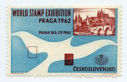 CINDERELLA : PRAGUE / PRAGA - WORLD STAMP EXHIBITION 1962 - Cinderellas