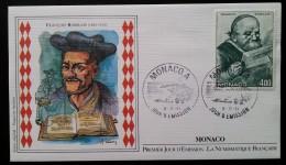 MONACO - FDC 1984 - YT N°1453 - Les Arts / Rabelais / Gargantua - FDC