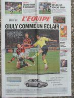 L'Equipe Du 19 Avril 2006 Gully - Mathieu - Bjarne Riis - Arsenal - - Newspapers