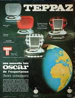 Publicité Papier 1966 - Tourne Disque TEPPAZ - Pubblicitari