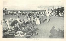 CP DJIBOUTI LE MARCHE 72400 - Djibouti