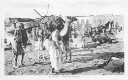 CP DJIBOUTI RETOUR EN BROUSSE - Djibouti
