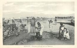 CP DJIBOUTI FONTAINE PUBLIQUE PRES DE L'ABATTOIR - Djibouti