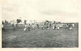 CP DJIBOUTI TERRAIN DE SPORTS INDIGENES - Djibouti