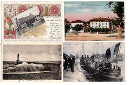 LOT  DE 80 CARTES  POSTALES  ANCIENNES  DIVERSES  N48 - Cartes Postales
