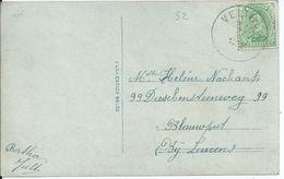 Fantasiekaart Met OCB 137 - Afstempeling VELTHEM - 1915-1920 Albert I