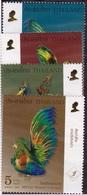 Thailand (Sc #2309)  MNH (Set Of 4) Figurines Of Birds (2007)2s - Thaïlande