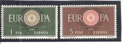 España/Spain-(MH/*) - Edifil  1294-95 - Yvert  975-76 - 1931-Hoy: 2ª República - ... Juan Carlos I