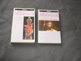 Roman  Persses Pocket  Fantasy  5345 La Quéte De Tanelorm  5383 La Quéte D'érekosé    De M.Moorcock - Presses Pocket