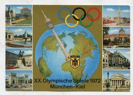 GERMANY  - AK 313526 XX. Olympische Spiele München-Kiel - Jeux Olympiques