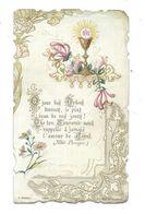 IMAGE PIEUSE..édit. C. Morel N 1024..Communion André DETANT, Eglise St Pierre à CALAIS (62), En 1906 - Devotion Images