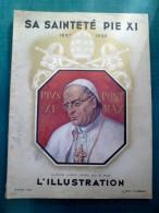 L'illustration Album Hors Serie 1939 - Sa Saintété Pie XI - Newspapers