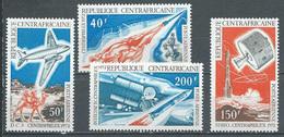 Centrafricaine Rép. Poste Aérienne YT N°100/103 Exposition Philatélique Centraphilex 72 Neuf ** - Central African Republic