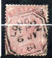 N° 70- Oblitéré - Reine Victoria -  Grande Bretagne - 1840-1901 (Victoria)