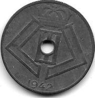 Belguim 10 Centimes 1942 Dutch   Xf+ !!! - 02. 10 Centimes